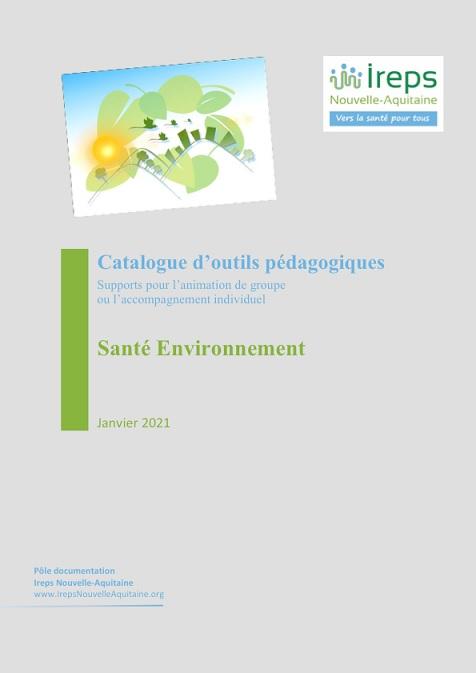 Le catalogue est en ligne sur le site de l'IREPS © IREPS NA