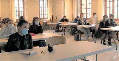 La classe de 3ème © GRAINE Nouvelle-Aquitaine