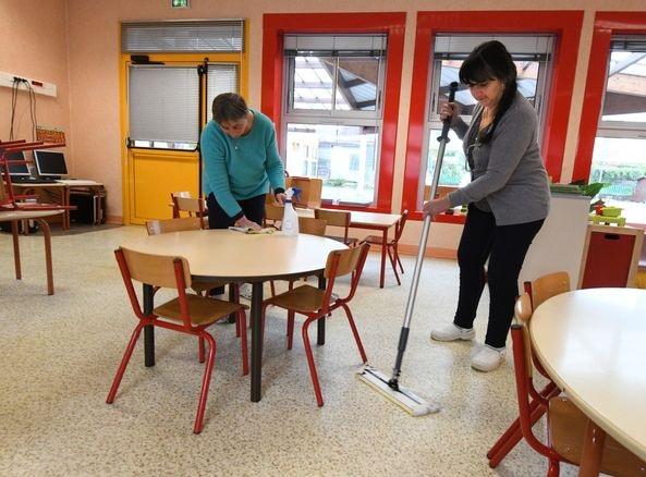 L'expérimentation au Groupe Scolaire Jean Macé © Ville de Guéret