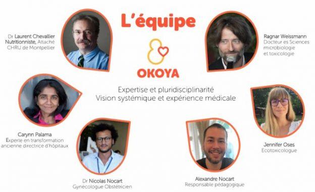 L'équipe d'Okoya © Global Life Consulting