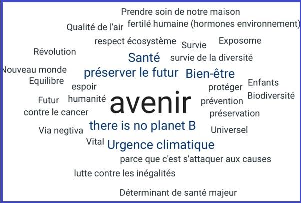 Extrait de la présentation sur la santé-environnement © CNISP