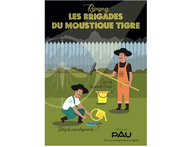 Invitation à rejoindre la brigade © Ville de Pau