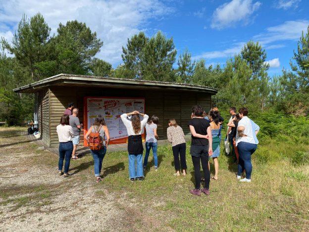 Une formation aux « Big-bâches » s'est déroulée au Centre du Graoux, à Belin-Beliet @ Graine Nouvelle-Aquitaine