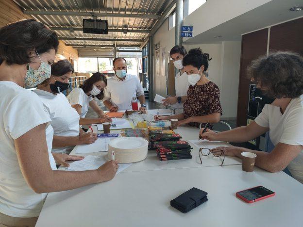 Les ateliers DIY sont animés par des étudiants de 5ème année dans le cadre du Service Sanitaire @ Université de Poitiers